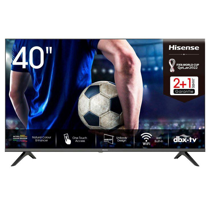 Hisense 40AE5500F – 40 Zoll LED Smart TV für 245€ (statt 273€)