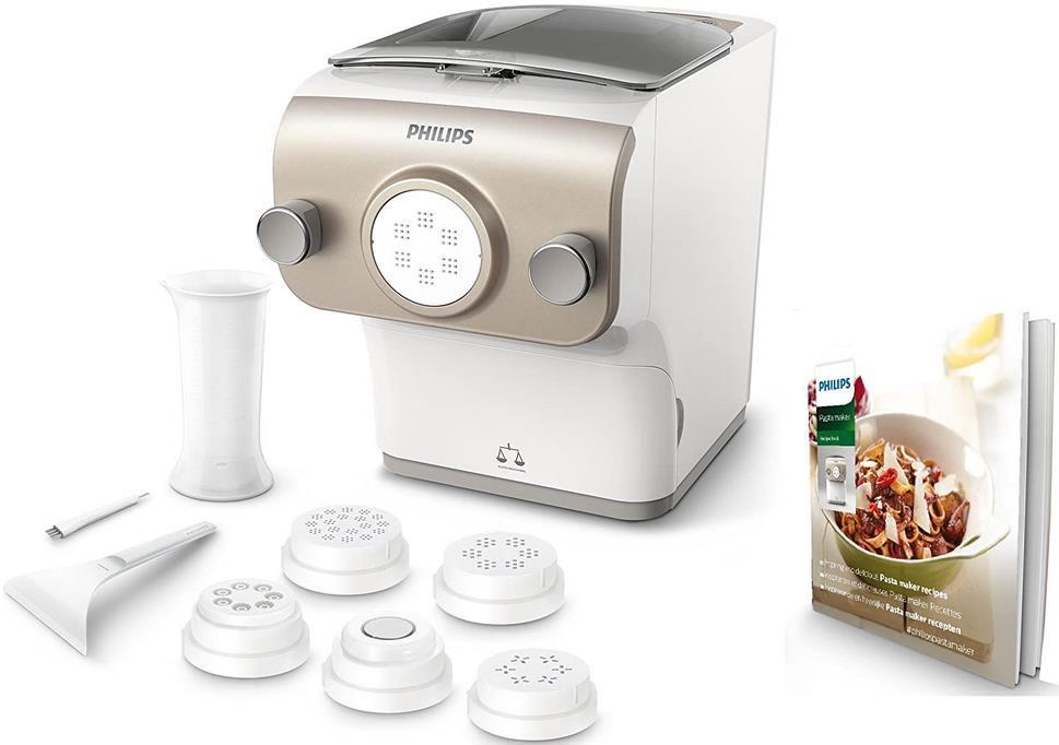 Philips HR2381/05 Pastamaker mit Wiegefunktion und 6 Formscheiben für 181,50€ (statt 196€)