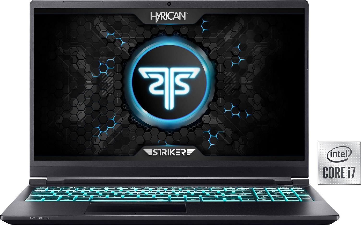 Hyrican Striker 1636 Gaming Notebook   15,6 Zoll, Intel Core i7, GeForce RTX 3070, 1TB SSD, 240 Hz für 1.601.95€ (statt 1.799€)