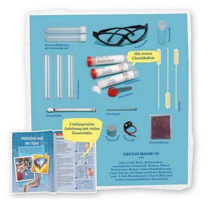 Kosmos 642136 C500 Chemielabor Starter Set für Einsteiger (Kinder ab 9 Jahre) für 10€ (statt 15€)   Prime