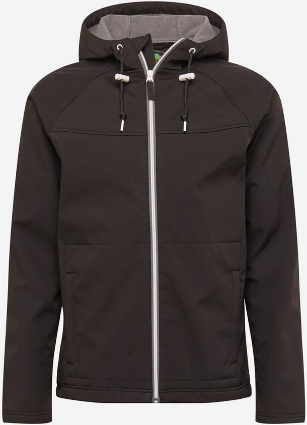 Derbe   Herren Softshelljacke in schwarz für 79,90€ (statt 125€)