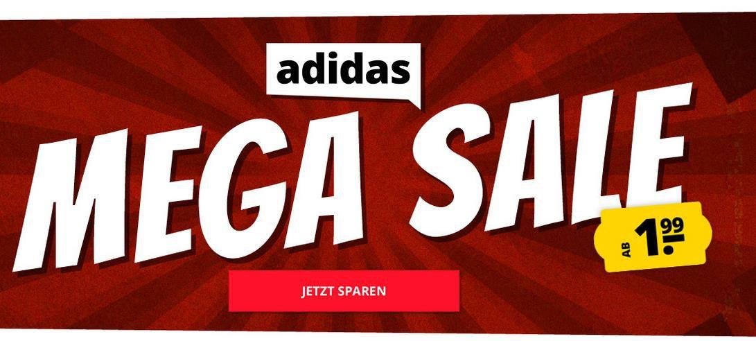 SportSpar: Adidas Megasale mit bis zu 96% Rabatt   z.B. Adidas Essentials 3 Stripes Trainingsjacke für 29,99€ (statt 50€)