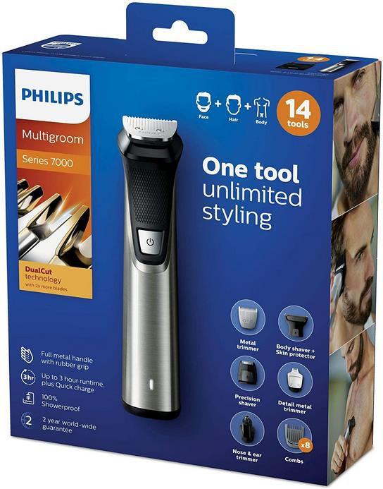 Philips MG7745/15 Multigroom Series 7000 mit 14 Aufsätzen für 53,69€ (statt 61€)