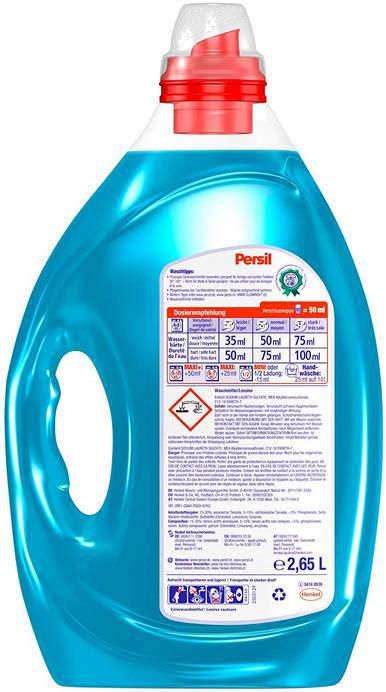 2x Persil Color Kraft Gel   Colorwaschmittel (2 x 53 Waschladungen) für 13,67€ (statt 25€)   Prime