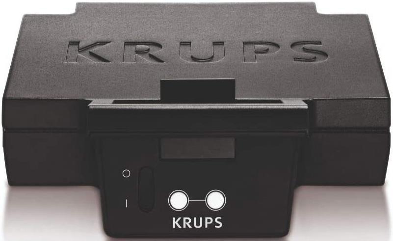 Krups FDK451 Sandwichmaker mit 850 Watt für 31,08€ (statt 35€)