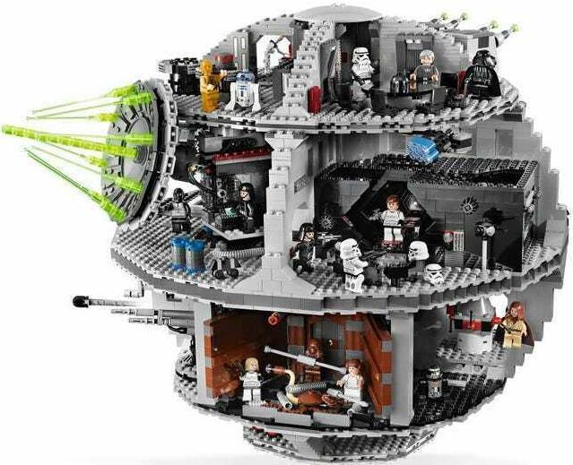 LEGO STAR WARS Todesstern 10188 mit 24 Minifiguren für 599€ (statt 700€)
