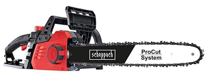Scheppach Elektro Kettensäge CSE2600 mit 44cm Schnittlänge für 59€ (statt 77€)