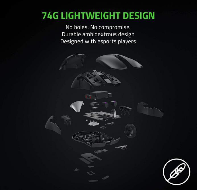 Razer Viper Ultimate   Kabellose Gaming Maus mit Ladestation für 89,99€ (statt 110€)