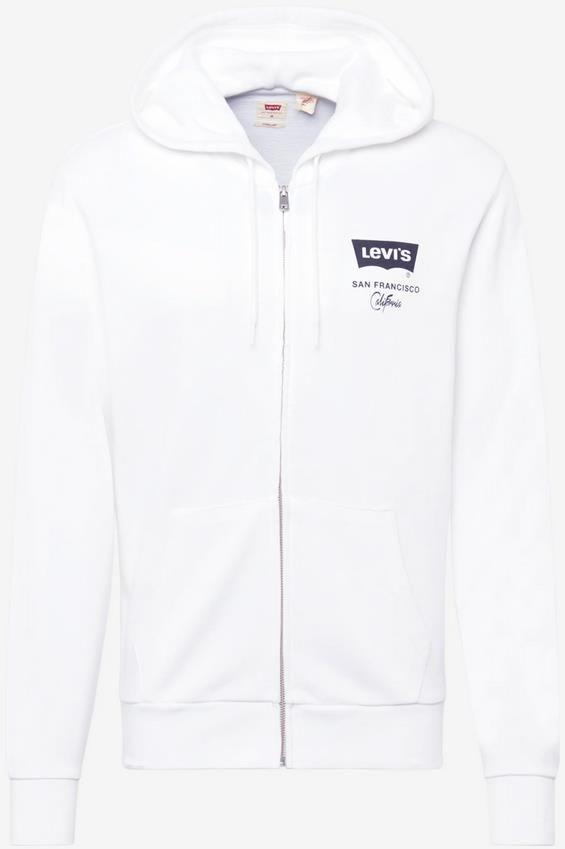 Levis T3 Graphic Up Herren Sweatjacke in Weiß für 43,92€ (statt 57€)