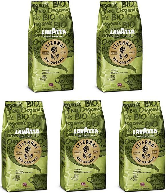 2,5 Kg Luigi Lavazza   ¡Tierra!   Bio Arabica Kaffeebohnen für 22,49€ (statt 30€)   Sparabo