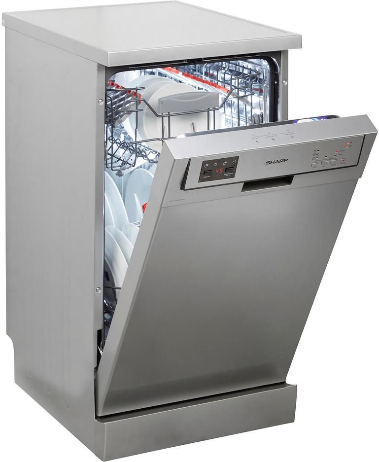 Sharp QW HS12F47ES DE Standgeschirrspüler für 328,95€ (statt 377€)