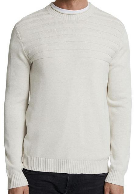 2x Esprit Men   Herren Sweathshirt in Weiß für 30€ (statt 40€)