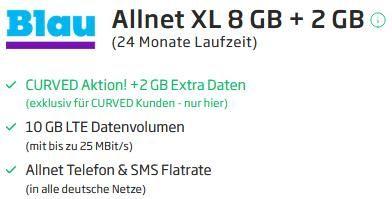 Huawei Watch Fit OLED für 9€ mit o2 Allnet Flat von Blau inkl. 10GB LTE für 10,99€ mtl.