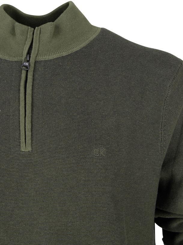 Calvin Klein   Rollkragen Pullover mit Reißverschluss für 69,99€ (statt 100€)