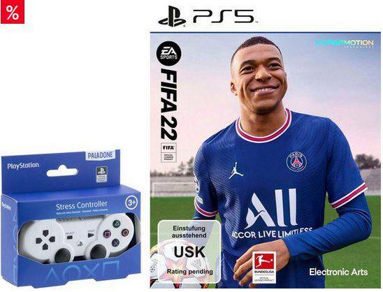 FIFA 22 für die PS4 oder PS5 + Stressball ab 34,99€ (statt 66€)