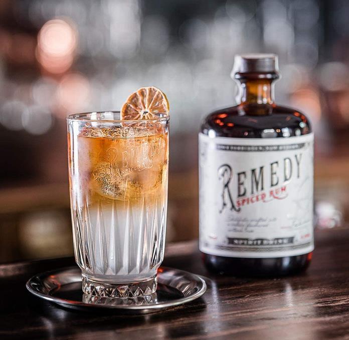 Remedy   Spiced Rum 0,7 Liter Flasche für 15,29€ (statt 19€)   Sparabo