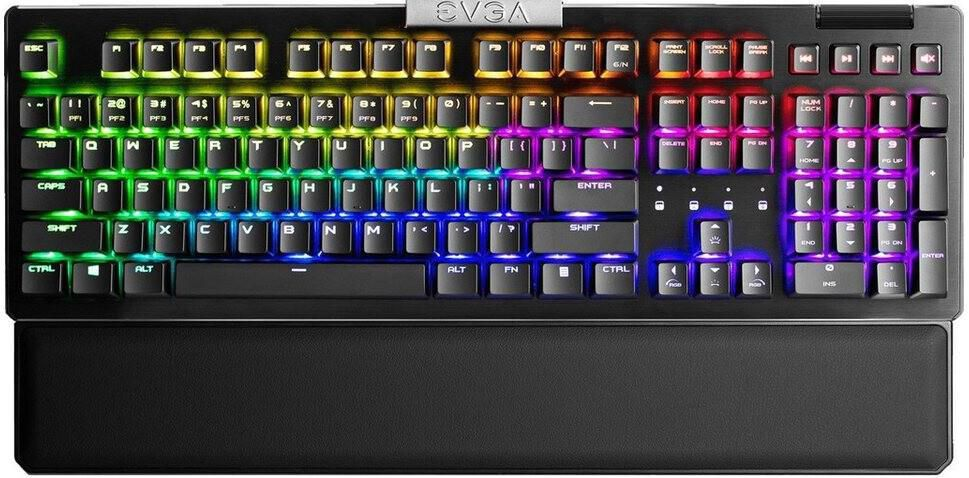 EVGA Z15   Gaming Tastatur mit RGB Beleuchtung für 66,89€ (statt 97€)