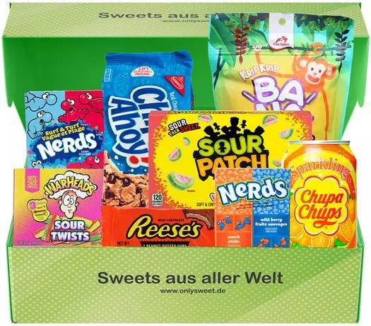 OnlySweet   Internationale Süßigkeiten in Premium Boxen für 15,99€ (statt 40€)