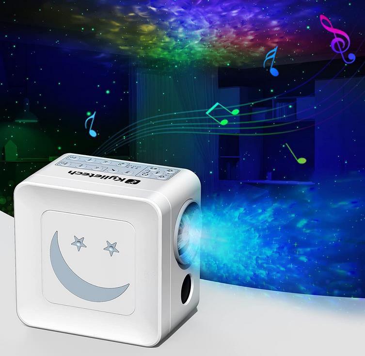 Kylietech Sternenhimmel Projektor mit 14 Farben und Timer für 15,99€ (statt 40€)