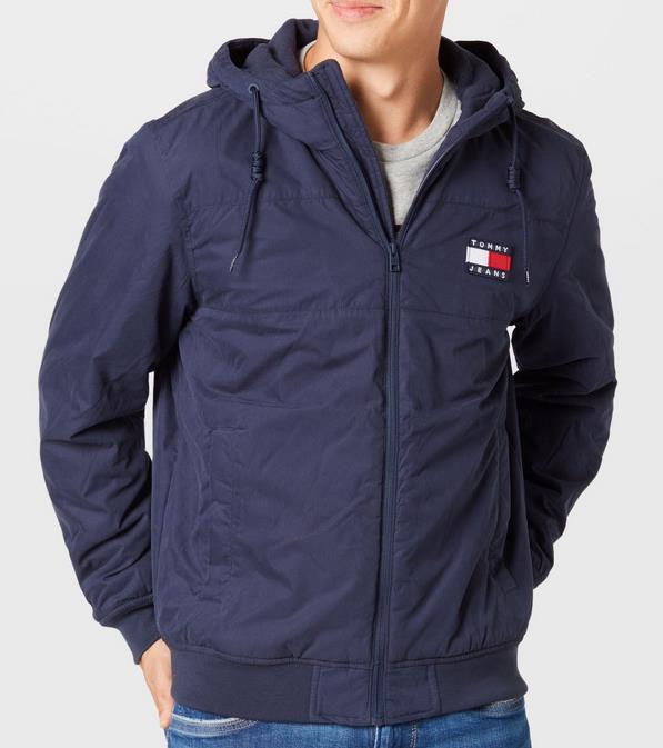 Tommy Jeans   TJM Padded Nylon Jacket   Herren Übergangsjacke für 135,20€ (statt 148€)