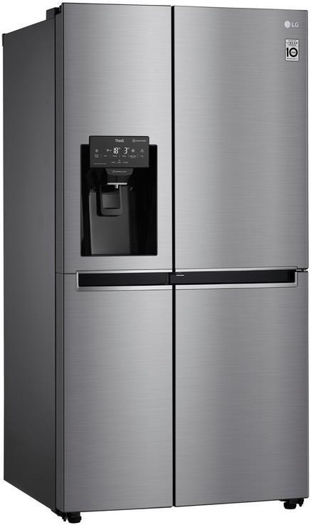 LG GSJ760PZZE Side by Side Kühlschrank mit Eis , Crushed Ice  und Wasserspender für 1.293,90€ (statt 1.449€)