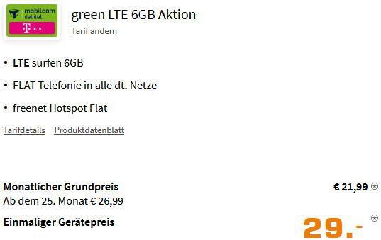 Xiaomi 11T 5G mit 128GB für 29€+ Telekom Allnet Flat mit 6GB LTE für 21,99€mtl.