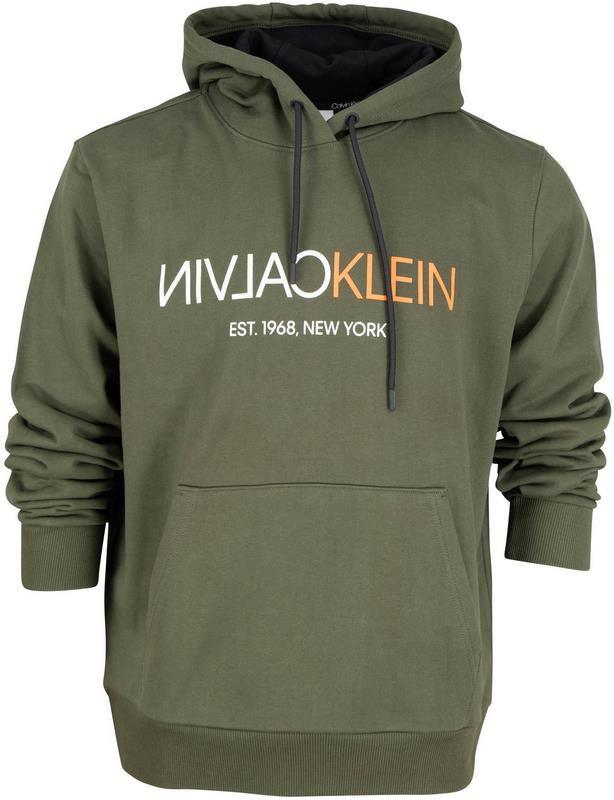 Calvin Klein Hoodie mit umgekehrtem Logo   Größe M und L für 69,99€ (statt 100€)