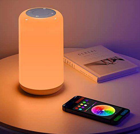 Govee Aura Lite – smarte RGBWW Tischleuchte mit Musikeffekt, Alexa & Google Support für 30,99€ (statt 40€)