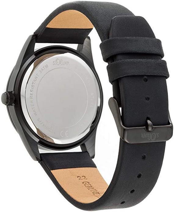 s.Oliver Herren Multi Zifferblatt   Quarz Armbanduhr für 54,99€ (statt 71€)