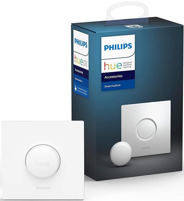 Philips Hue Smart Button   Lichtsteuerung ohne Installation für 19,99€ (statt 35€)