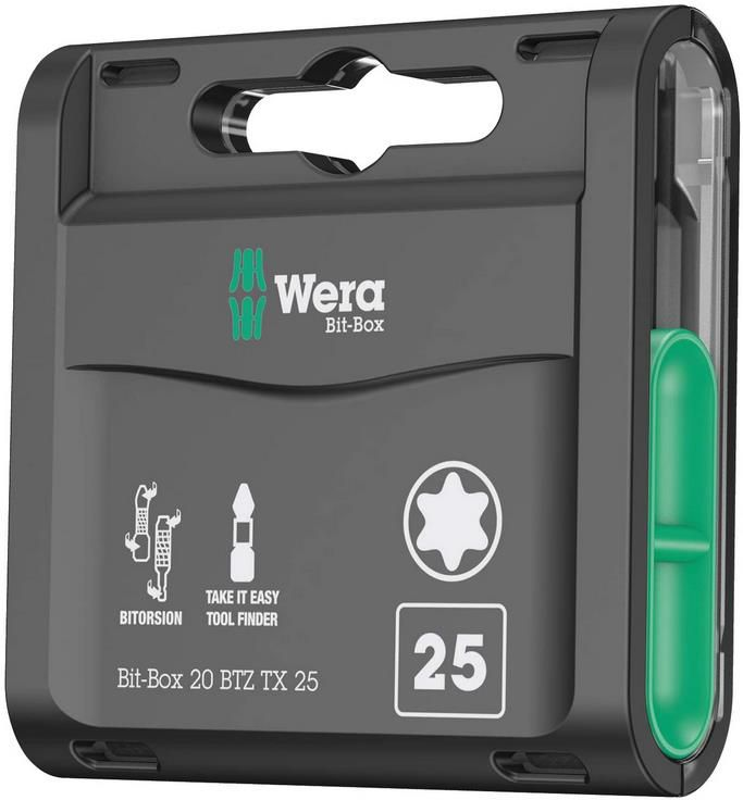 Wera Box 20 BTZ TX 20 teiliges Bit Sortiment für 19,41€ (statt 30€)