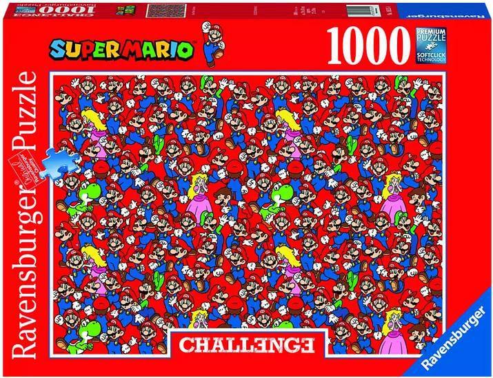 Ravensburger   Super Mario Bros   Challenge Puzzle für 8,99€ (statt 12€)   Abholung