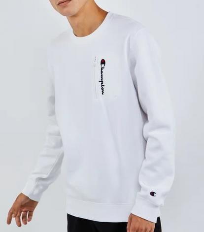 Champion Zip Logo   Herren Sweatshirt für 29,99€ (statt 50€)