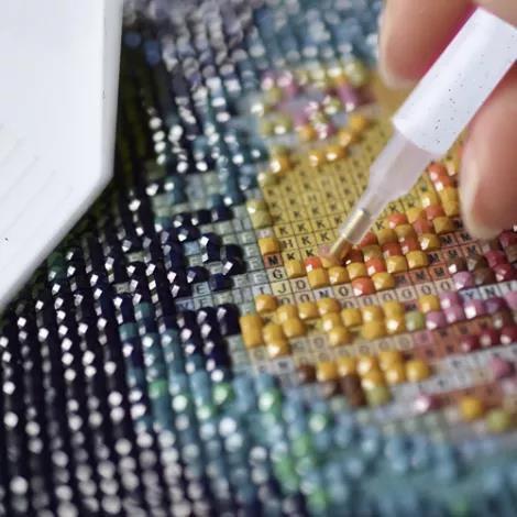 77% Rabatt auf Diamond Painting Bilder mit eigenem Motiv –  z.B. in 60x40cm für 23€ (statt 70€)