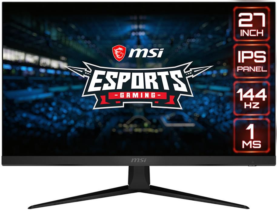 MSI Optix G271 014   Gaming Monitor mit 27 Zoll, Full HD, 144Hz, 1ms mprt für 189€ (statt 225€)