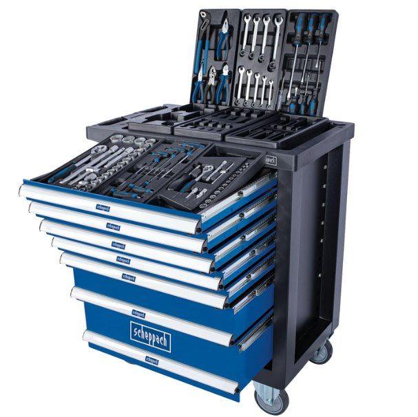 Scheppach Werkstattwagen TW1100 mit Werkzeug für 299€ (statt 419€)