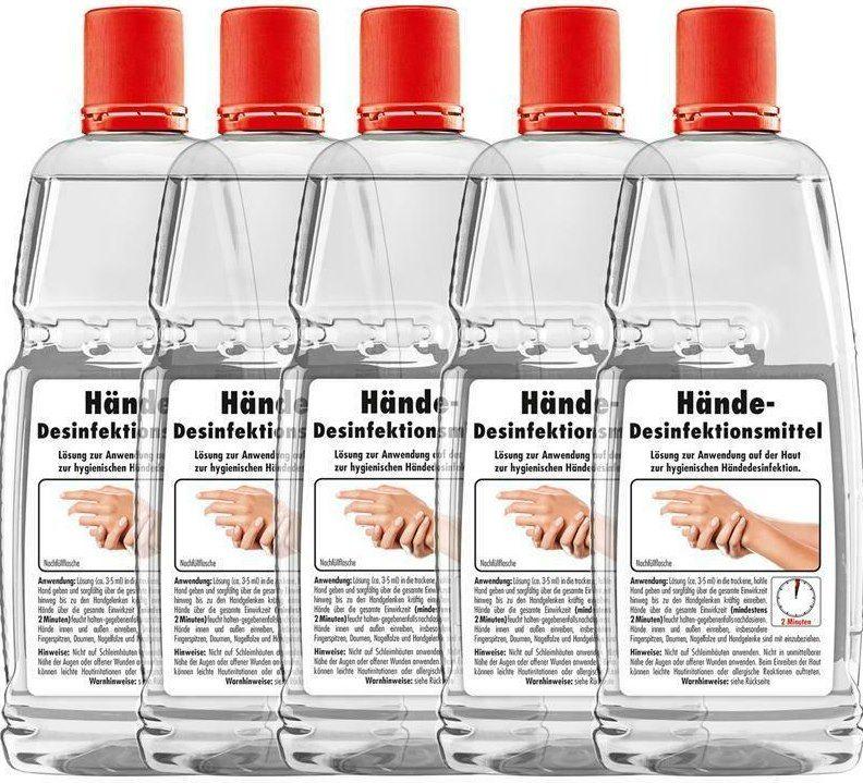 5x 1L Sonax Hand Desinfektionsmittel für 7,99€ (statt 25€)