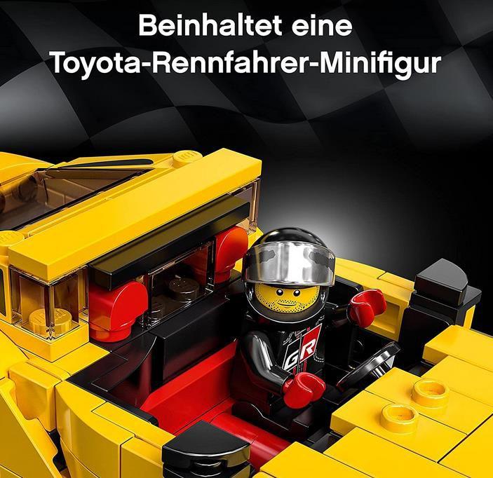 LEGO 76901 Speed Champions Toyota GR Supra Rennwagen für 14,68€ (statt 20€)