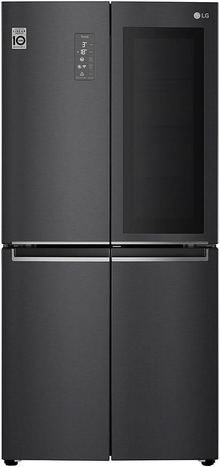 LG GMQ844MC5E Side by Side Kühlschrank mit InstaView Tür für 999€ (statt 1.389€)