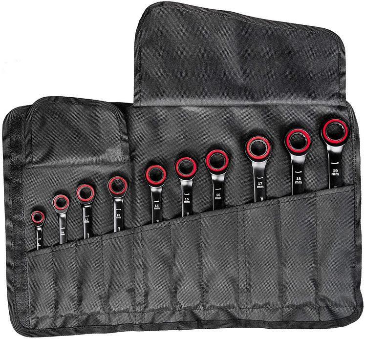 Bosch Professional 10 tlg. Ring Maulschlüssel Satz mit Ratschenfunktion für 73,46€ (statt 95€)