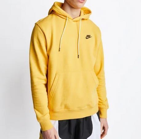 Nike Sportswear   Herren Hoodie in Gelb oder Grau für 29,99€ (statt 49€)