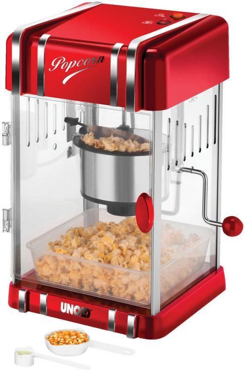 Unold Popcorn Maker Retro in Rot für 45,98€ (statt 70€)   B Ware