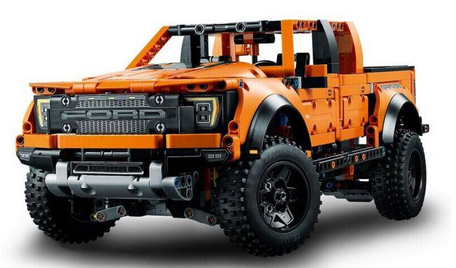 LEGO 42126 Ford F 150 Raptor Bausatz für 99,99€ (statt 110€)