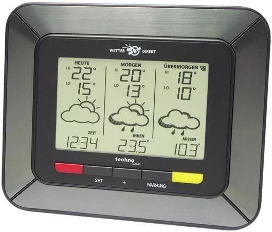 Technoline WD 4930 Wetterstation inkl. Außensender ab 19,99€ (statt 39€)