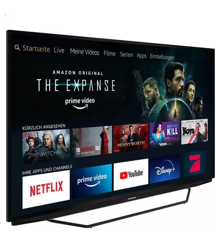 GRUNDIG 55 GUB 7140 Fire TV Edition 55Zoll UHD TV für 463,90€ (statt 565€)