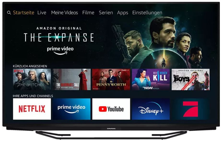 Pricedrop: GRUNDIG 55 GUB 7140 Fire TV Edition 55Zoll UHD TV für 434€ (statt 565€)