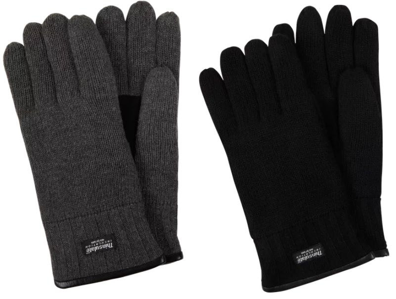 eem fashion Handschuhe aus Wolle in Schwarz für 21,24 € (statt 25€)
