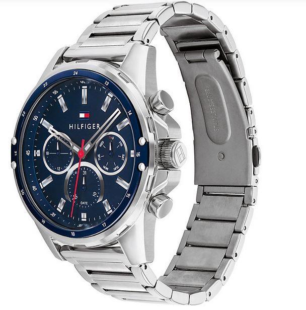 Tommy Hilfiger Mason sportliche Herren Mode Uhr für 86,63€ (statt 103€)