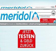 meridol® SANFTES WEISS gratis ausprobieren