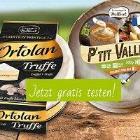 Käse von Milleret kostenlos ausprobieren